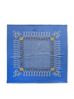43% OFF J. McLaughlin Women's Mainsail Silk Print Scarf, Aqua/Sunflower
