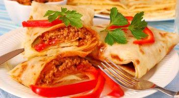 Crepe salée - recette Chandeleur - Gourmand