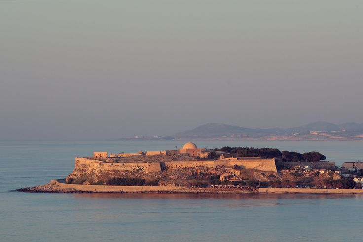 The imposing Fortezza Castle at Rethymno!