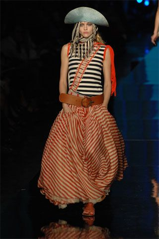 Jean Paul Gaultier Spring 2008 RTW - Runway Photos - Fashion Week - Runway, Fashion Shows and Collections - Vogue