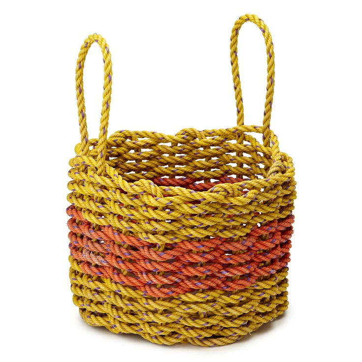 How To Weave A Basket With Rope : Rope basket lobsters and ropes on