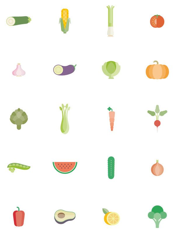 Natural salads on Behance