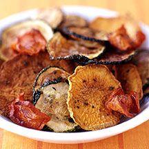 Oven Roasted Herbed Vegetable Crisps