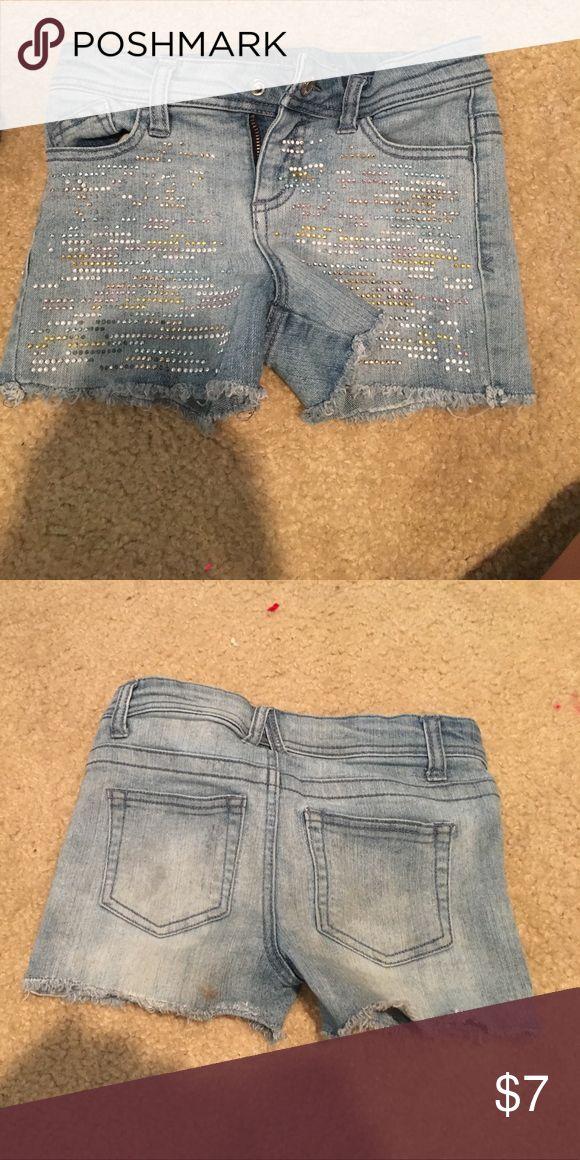 Children's sparkle shorts Sparkle shorts Bottoms Shorts