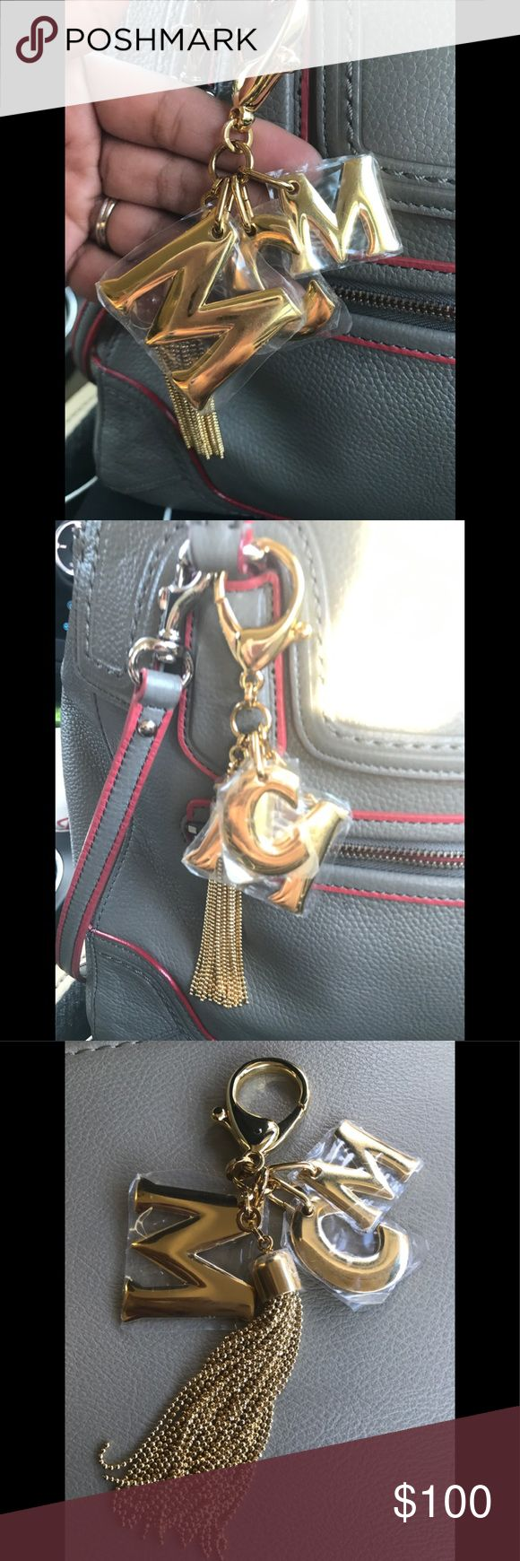 MCM Key Chain/ Charm Authentic MCM Bag Charm/ Key Chain. 💥Price is Firm💥 MCM Accessories Key & Card Holders
