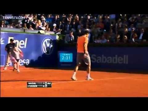 "Hot Shot : Le coup d'oeil de ""Rafa"" (Rafael Nadal)"