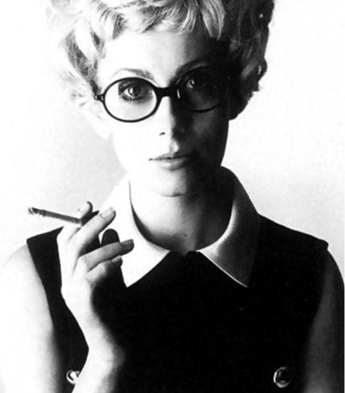 Catherine Deneuve photographed by David Bailey