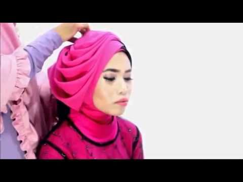 Hijab Tutorial Wisuda Full Step 2015 - YouTube