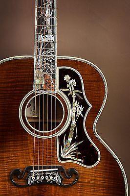 Gibson SJ-200 Koa Master Museum Custom Acoustic Guitar! J-200   Musical Instruments & Gear, Guitars & Basses, Acoustic Guitars   eBay!