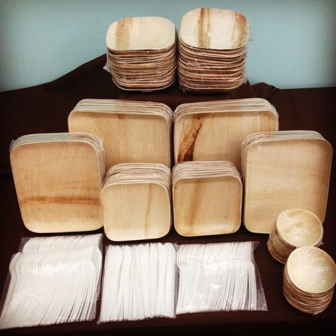 VerTerra Party Perfect Package – VerTerra Dinnerware - seriously. perfect eco-friendly wedding dinnerware