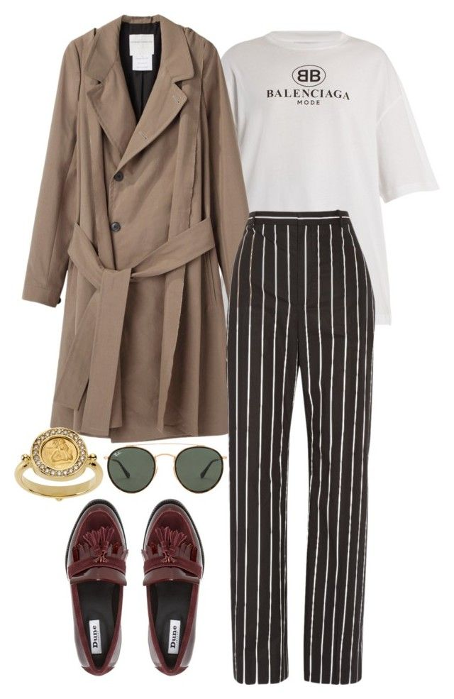 """""""Untitled #763"""" by szudi on Polyvore featuring Balenciaga, Stephan Schneider, Ray-Ban and Temple St. Clair"""