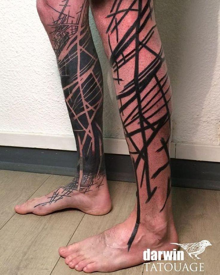 Darwin Tatouage — #tatouage #tattrx #tattoo #rennes #lignes...