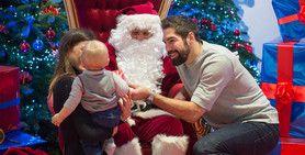 Paris Saint-Germain celebrates Christmas