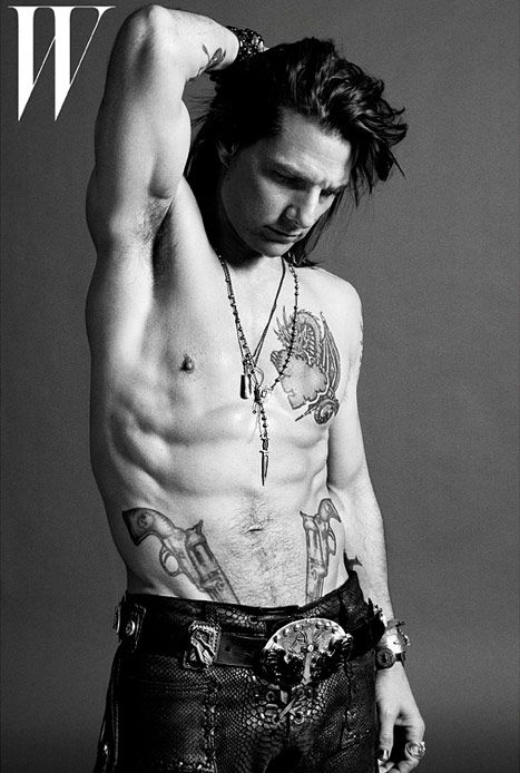 See Tom Cruise's Ripped, Tattooed Bod, Heavy Metal Makeover for Rock of Ages - UsMagazine.com