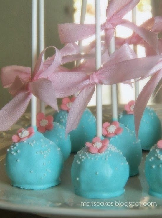 Mari's Cakes (English): Cake Pops, Ballerina Cupcakes, and Cute Cake for Topaz 16th Birthday!
