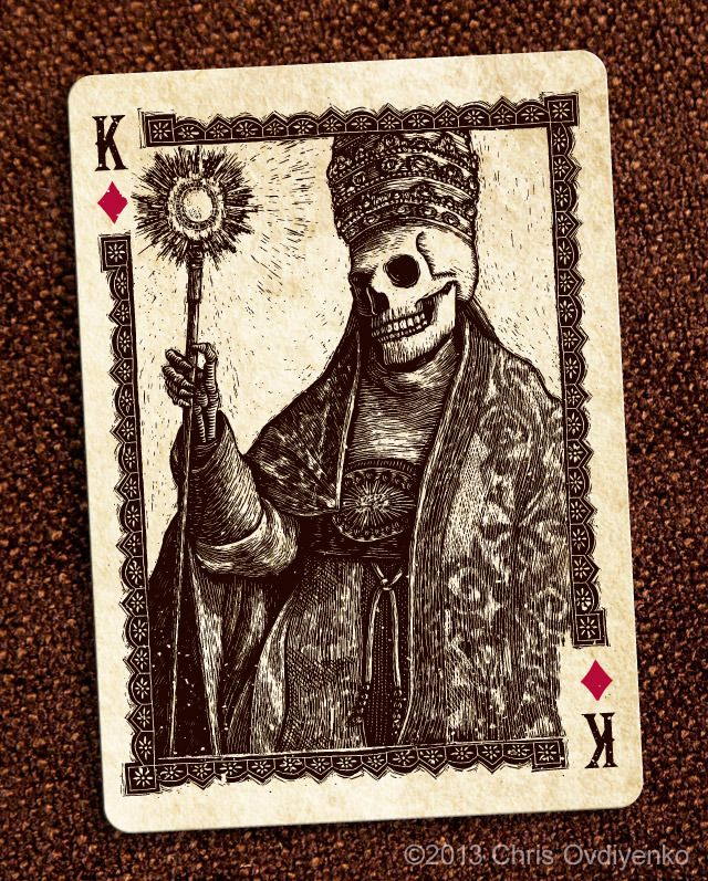 Calaveras — Playing cards inspired by the Day of the Dead by Chris Ovdiyenko — Kickstarter