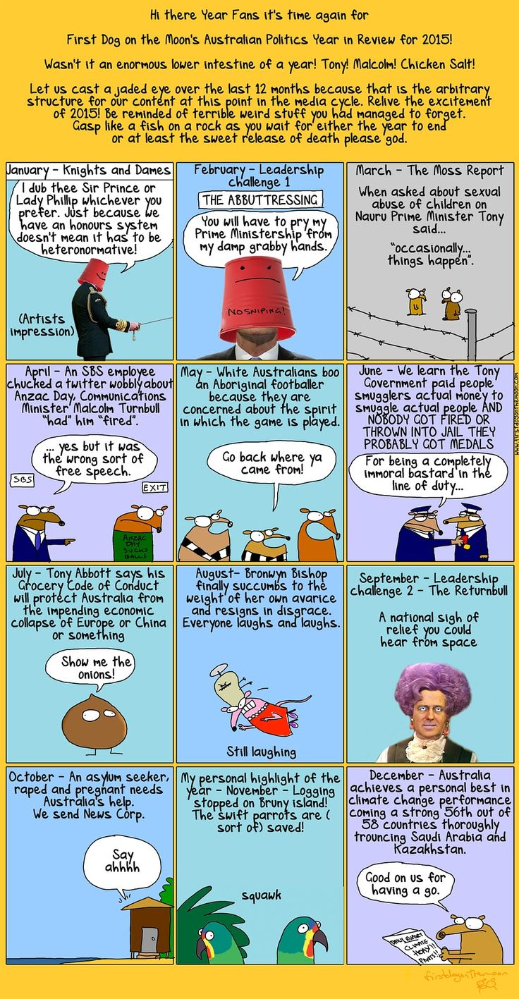 First Dog on the Moon's Australian politics year in review 2015