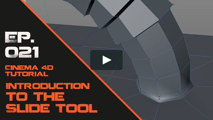 In this Cinema 4D tutorial I will introduce you to the Slide Tool. Download Project File: https://astronomic3d.com/lesson/introduction-to-the-slide-tool-in-cinema-4d/