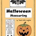 Students will estimate and record how many candy corns long they believe the object is.  Teacher choice - use the candy rulers or real candy corns!  I can... card included!