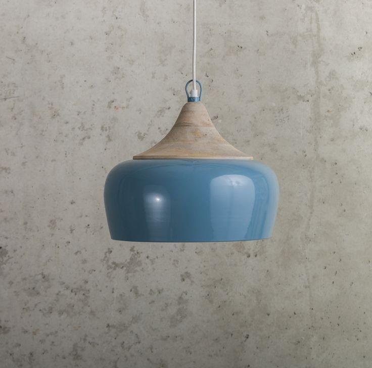 Panthéon hanglamp blauw