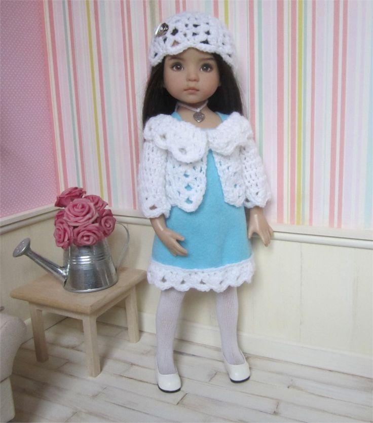 52- FICHE PATRON Tenue Givre pour poupée Little Darling, Paola Reina ou Les Chéries de Corolle : Jeux, jouets par atelier-crochet