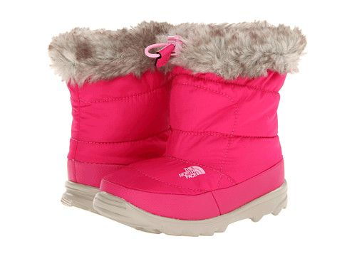 The North Face Kids Nuptse Bootie Faux Fur II (Toddler)