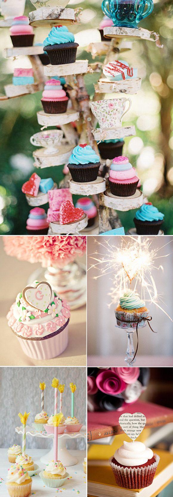 Cupcakes en las bodas