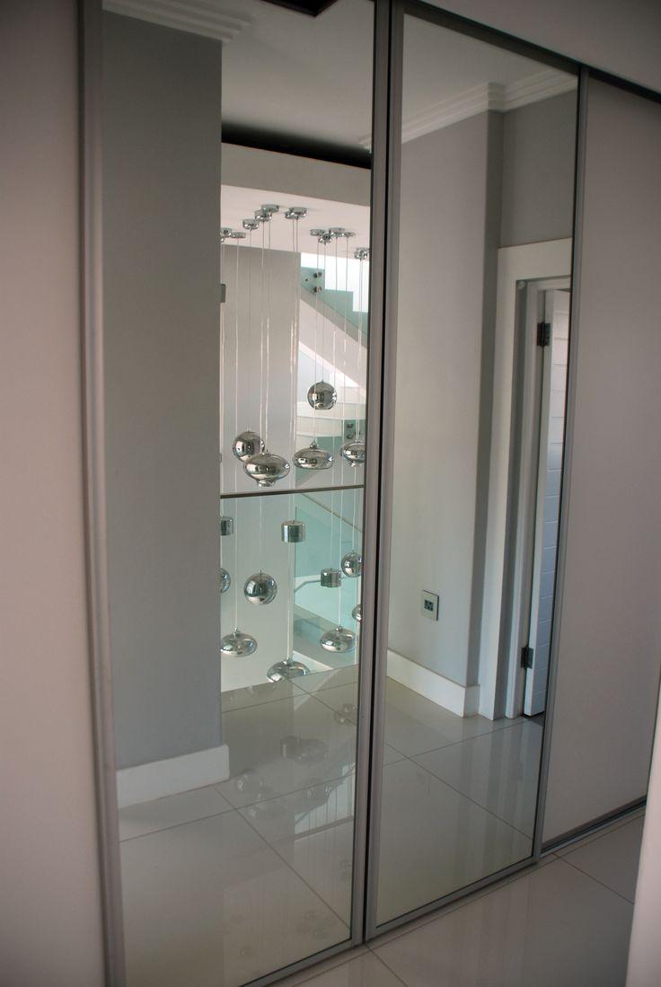 EC Woodworth - Mirror Sliding Doors - Built In Cupboard