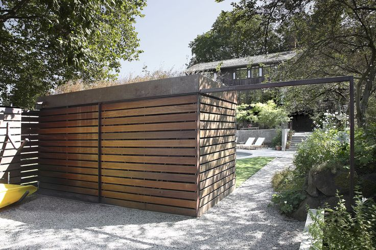 SHED Architecture & Design - Modern Architects Seattle - Shed and Yard Exterior Modern Home - SHED Architecture & Design