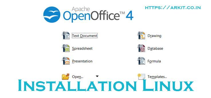 HowTo Install Apache OpenOffice4 Linux RHEL 7/Centos 7