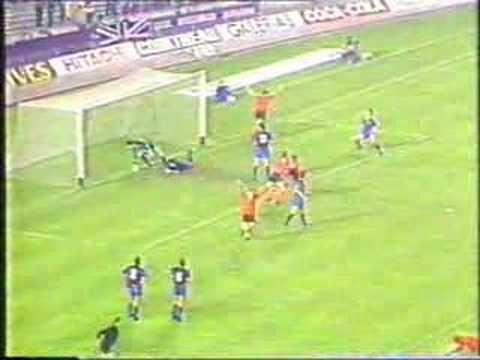 Barcelona - Dundee United 1987 uefa cup qtr final nou camp