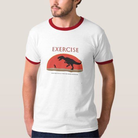 Exercise - Proper Motivation T-Shirt - tap, personalize, buy right now!