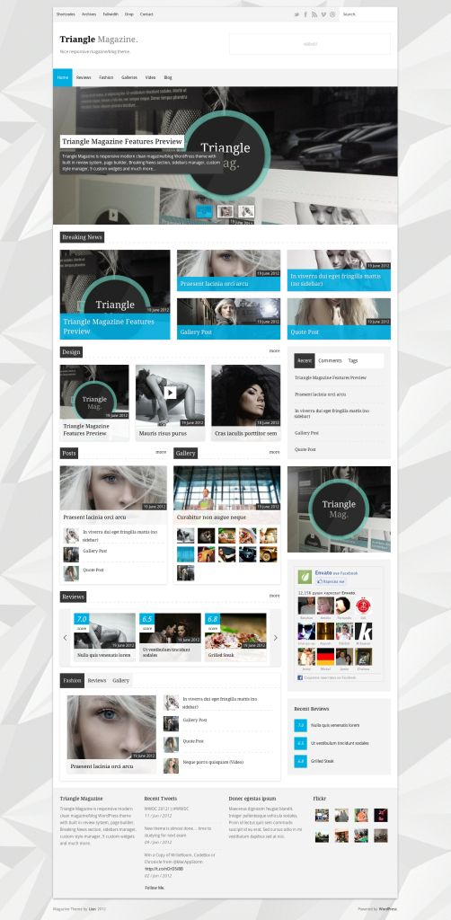34 best Website Design Ideas: Magazines & Group Blog images on ...