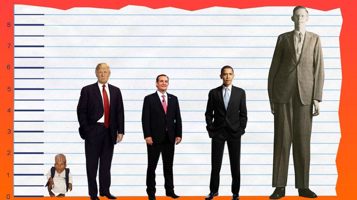 How Tall Is Donald Trump? - Height Comparison! - YouTube