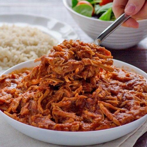Clean Crock Pot Pulled Pork HealthyAperture.com #eatcleanpinparty