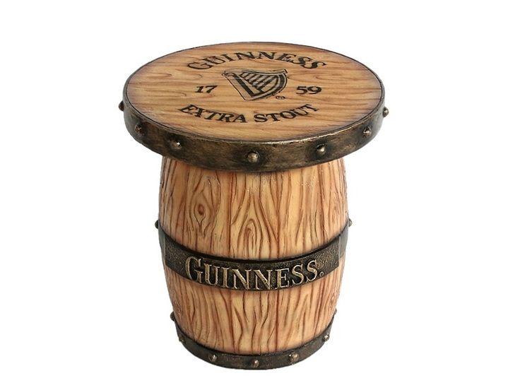 JJ032 - Light Wood Guinness Barrel Table - All Beer Names Available - JJ032 - Light Wood Guinness Barrel Table - All Beer Names Available.jpg