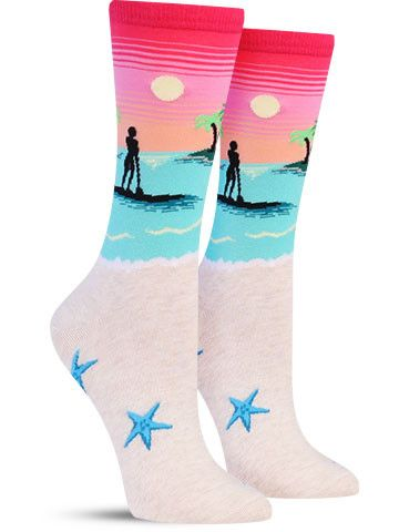 Stand Up Paddleboard Socks! We all need these! :)