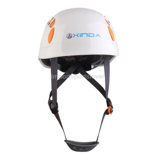 Rock climbing carving rappelling #helmet safety hat cap #protect gear #white,  View more on the LINK: http://www.zeppy.io/product/gb/2/152163589930/
