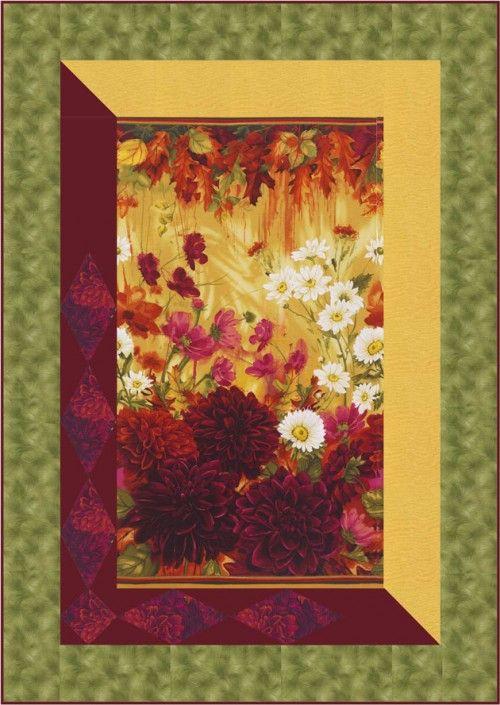 191 Best Panel Quilts Images On Pinterest Quilt Blocks