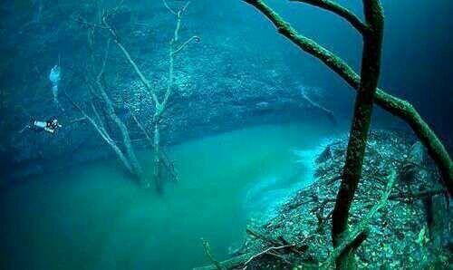 River under Sea