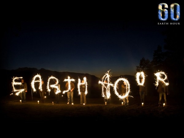 Don't forget that tonight is Earth Hour!