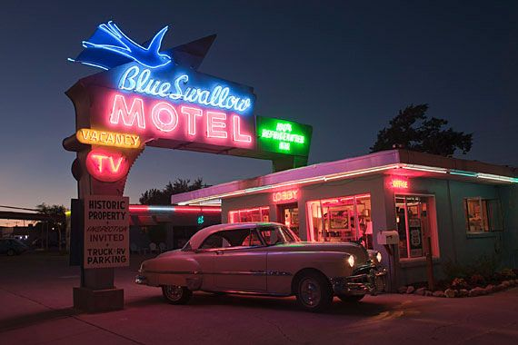 Blue Swallow Motel -  Route 66 Tucumcari - New Mexico