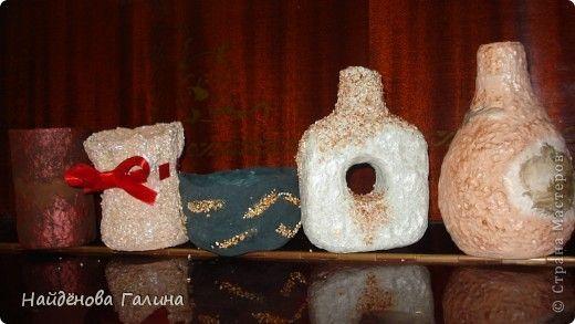 Вазочки и горшочки , для своих композиций,я иногда делаю сама,Бутылки пластиковые,консервные банки,бумажные ячейки из под яиц,туалетная бумага...все идет в ход.  фото 22
