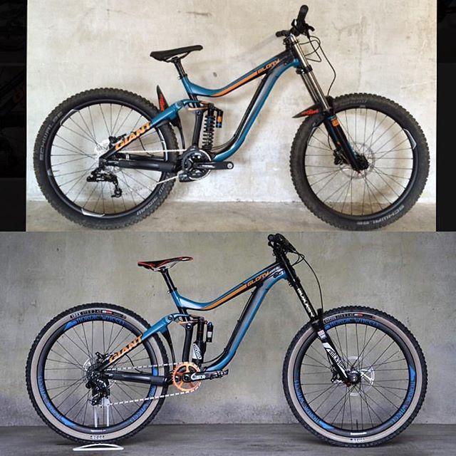 🔥Hot or Not🔥 Glorytuning by @life.on.mountainbike ----------------------------- #mtb#downhill#giant#glory#bike#rockshox#sick#bikeporn#picoftheday#worldcup#redbull#twowheeld#followme