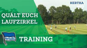 Quält euch - Laufzirkel - Training - Trainingslager - Hertha BSC - Bunde...
