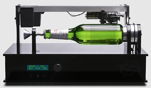 音楽を再生可能なビール瓶「Edison Bottle(エジソンボトル)」