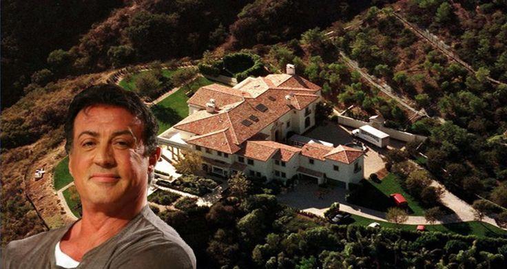 Sylvester Stallone's House - 2015 (Inside & Outside)