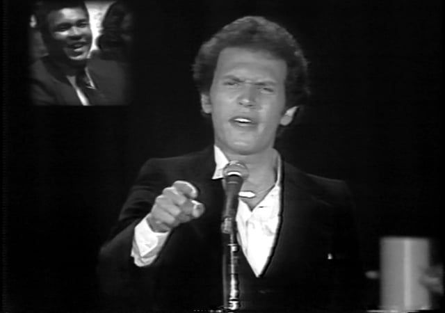 As originally performed at Ali's retirement tribute in 1979 at the Forum.