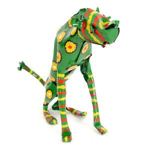 Painted Tin Cheetah, $32, now featured on Fab.