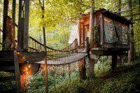 Adesso puoi dormire nella casa sull'albero che hai sempre sognato